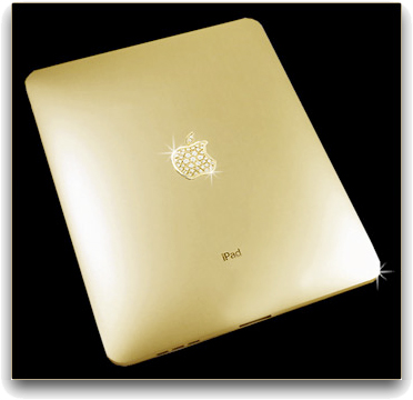 Solid Gold iPad With 53 Diamonds Limit