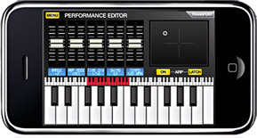 akai pro synthstation synthesizer music production studio ipad iphone ipod touch