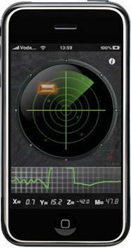 Radar Detector App >> Amazing Iphone Gadgets Metal Detector Radar App 3gs Ipad