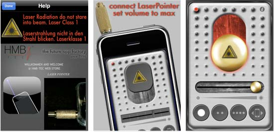 apple iphone headphone jack laser pointer hardware