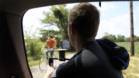 how to make your own professional iphone video or music video car