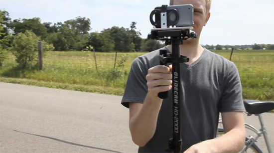 how to make your own professional iphone video or music video tripod