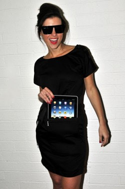 ipad kangaroo pouch clothing australia black dress t shirt dress