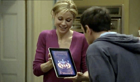 modern family sitcom video birthday apple ipad for phil dunphy