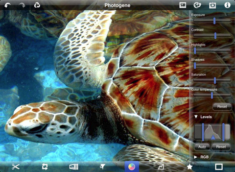 photogene for ipad review best apple ipad photography app color