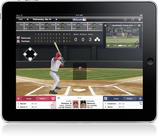 at bat 2010 baseball app for the apple ipad