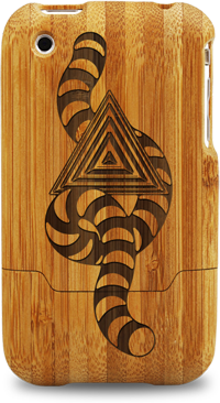 laser engraved bamboo iphone cases by grove nando