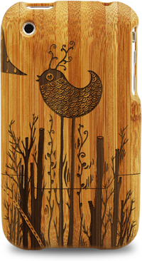 laser engraved bamboo iphone cases by grove sven