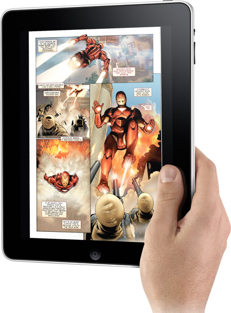 marvel comics app for the apple ipad hero