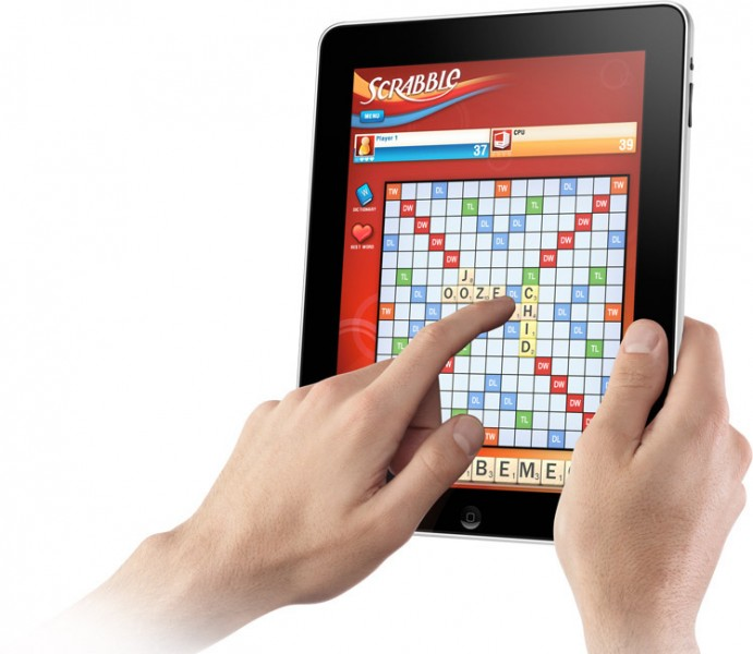 scrabble word game app for the apple ipad