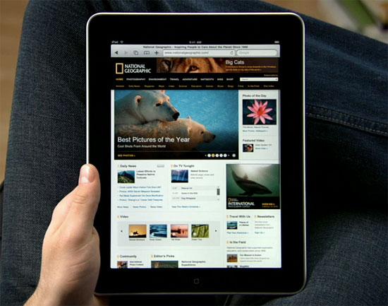 the revolutionary new ipad technology safari